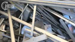 Schrottankauf von Aluminium Sorte 2