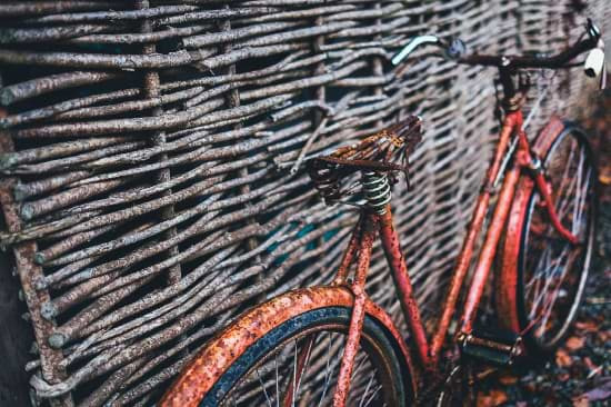 Altmetall Beispiel Fahrrad