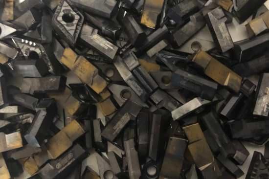 Hartmetall Beispiel Wendeplatten