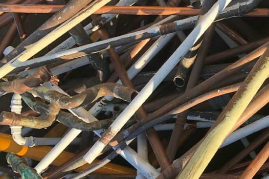 Kupfer als Kupferrohre